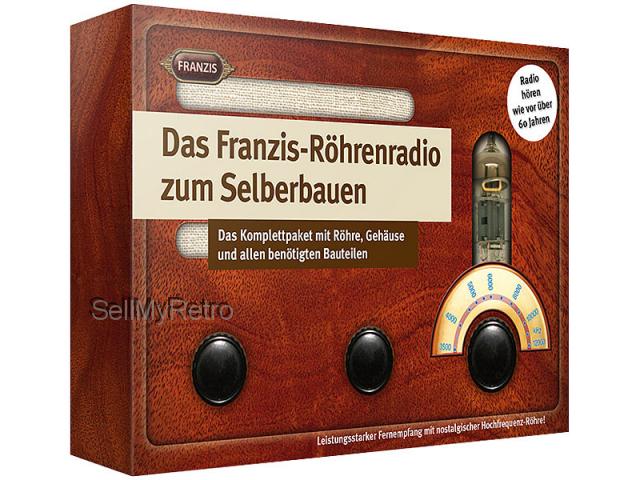 Franzis Röhrenradio Bausatz zum Löten