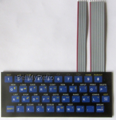ZX80 keyboard - ready to use