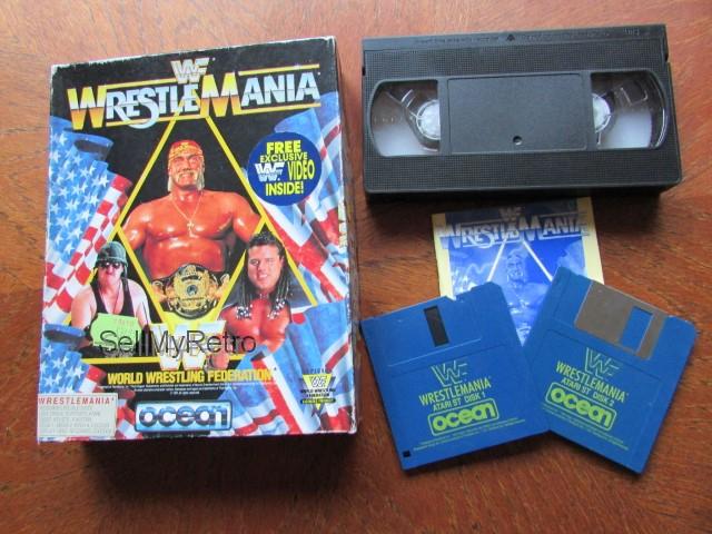 Atari ST Game - WrestleMania by Ocean
