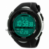 HONHX mens electronic watch casual outdoor sport digital LED silicone waterproof