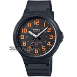 Casio Men's Watch in Resin/Acrylic Glass with Neo Display & Buckle - Water Resistant to 50