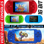 "8GB Handheld PXP Game Console Player Built-in 1000 Games 4.3"" Portable Consoles"