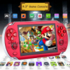8GB Handheld PSP Game Console Player Built-in 2000 Games 4.3'' Portable Consoles