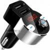 FirstE Bluetooth FM Transmitter, Car Radio Audio Adapter MP3 Player Handsfree Car Kit with Dual USB