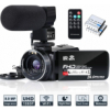 Video Camera Camcorder WiFi FHD 1080P 30FPS IR Night Vision YouTube Vlogging Camera Recorder 26MP 3