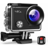 APEMAN Action Camera A77, 4K 20MP Webcam WiFi Sports for Vlog Underwater Cam Waterproof 30M with Rem