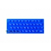 ZX Spectrum 16k/48k keyboard mat replacement Blue