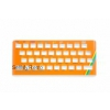 ZX Spectrum 16K / 48K Keyboard Faceplate Color Glossy Orange