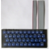 ZX80-KDLX (ready to use) - PCB keyboard with ZX80 imprint, fully assembled