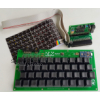ZX-Key: The ZX81 Mechanical Keyboard and Interface Card  (Gateron Yellow Switches)