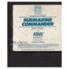 Submarine Commander for Atari 8-Bit Computers from Thorn EMI Video (THA 12001)