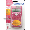 PINK CASIO SCIENTIFIC CALCULATOR 260 FUNCTIONS GCSE MATHS OFFICE ACCOUNTS NEW