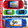 "8GB Handheld PSP Game Console Player Built-in 1000 Games 4.3"" Portable Consoles"