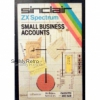 Small Business Accounts for ZX Spectrum from Willden Services/Sinclair (B6/SX)