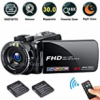 FHD Video Camera Recorder, 1080P 30.0 Mega Pixels High Definition Camcorder, 18X Digital Zoom 3.0&qu