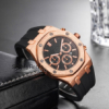 BOBO BIRD Colorful Luxury Wooden Watches Men Timepieces Fashion Wood Strap Date Display Quartz Watch