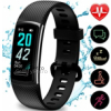 TEMINICE High-End Fitness Trackers HR, Activity Trackers Health Exercise Watch with Heart Rate and S